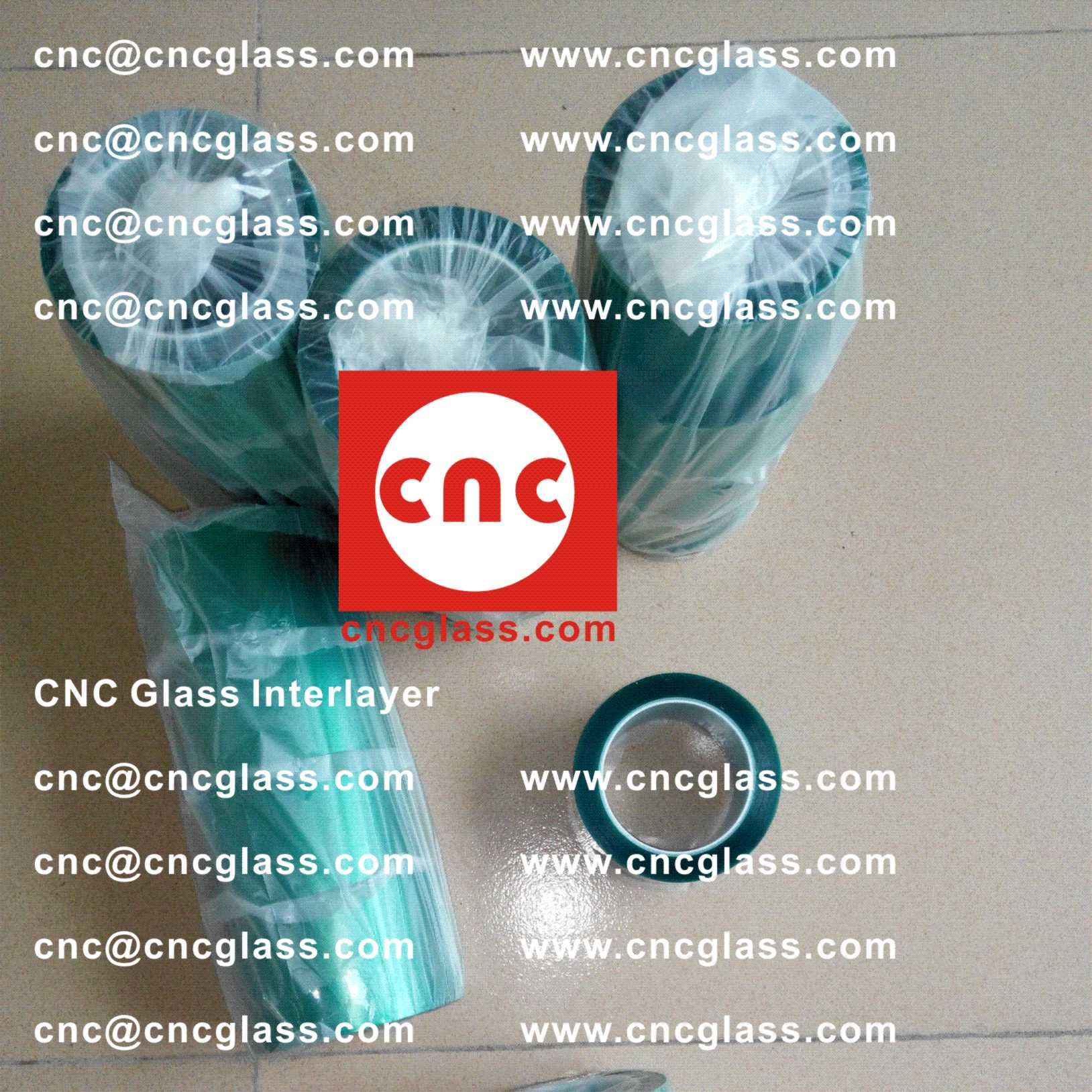 002 Thermal Green Tape for safety glazing, eva glass laminating