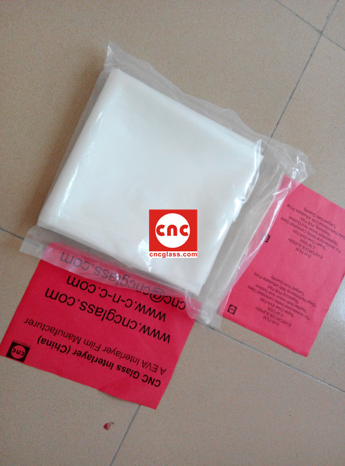 Ethylene Vinyl Acetate Copolymer EVA INTERLAYER FILM SAMPLE (1)