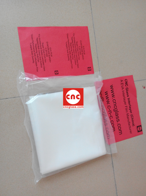 Ethylene Vinyl Acetate Copolymer EVA INTERLAYER FILM SAMPLE (10)