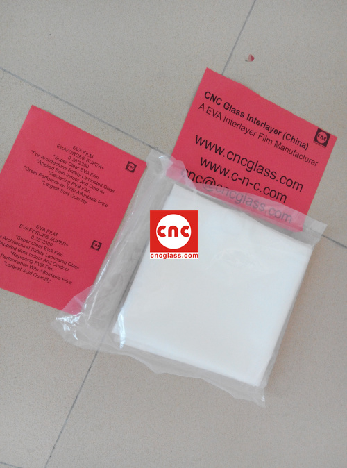Ethylene Vinyl Acetate Copolymer EVA INTERLAYER FILM SAMPLE (12)