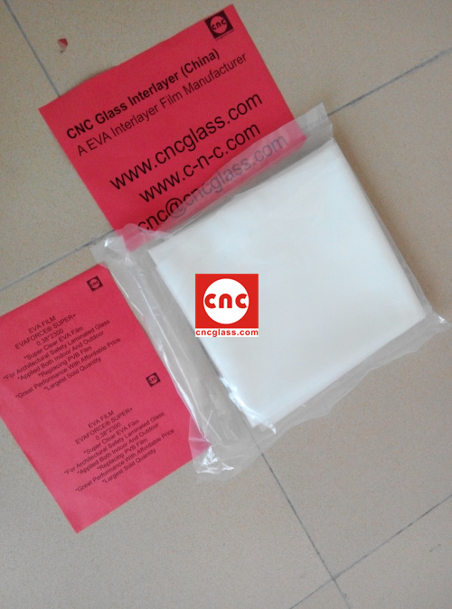 Ethylene Vinyl Acetate Copolymer EVA INTERLAYER FILM SAMPLE (14)