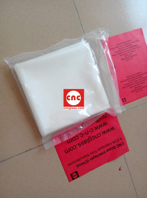 Ethylene Vinyl Acetate Copolymer EVA INTERLAYER FILM SAMPLE (2)