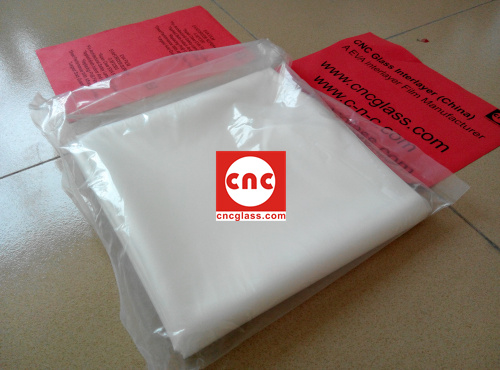 Ethylene Vinyl Acetate Copolymer EVA INTERLAYER FILM SAMPLE (4)
