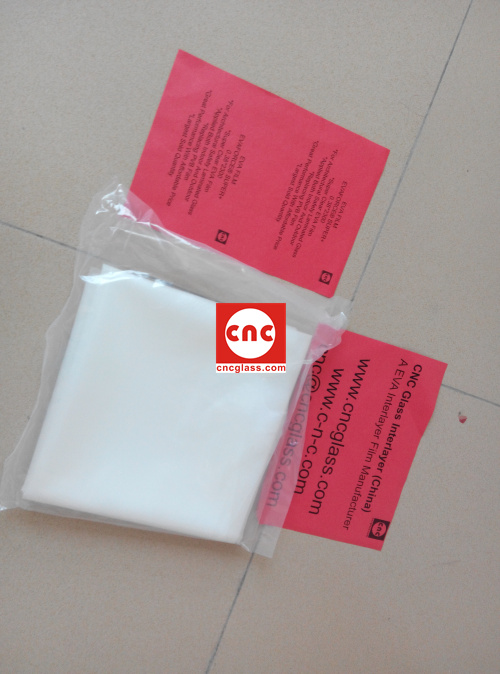Ethylene Vinyl Acetate Copolymer EVA INTERLAYER FILM SAMPLE (8)