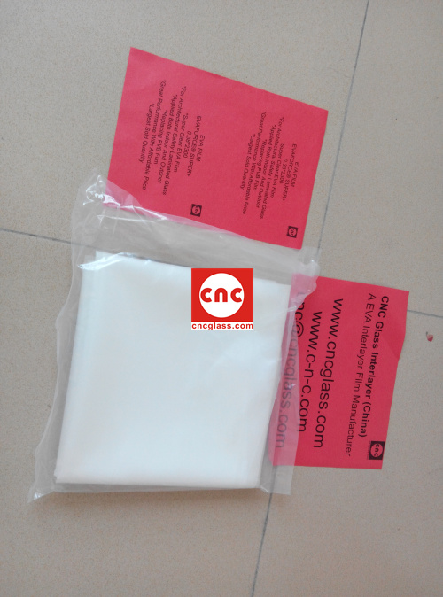 Ethylene Vinyl Acetate Copolymer EVA INTERLAYER FILM SAMPLE (9)