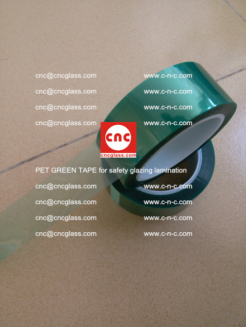 PET GREEN TAPE for safety glazing lamination (12)