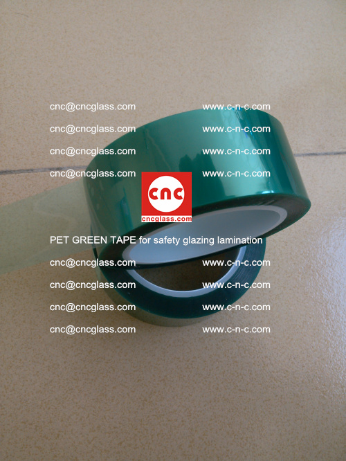 PET GREEN TAPE for safety glazing lamination (13)