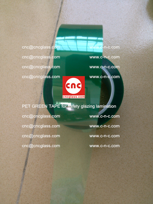 PET GREEN TAPE for safety glazing lamination (14)