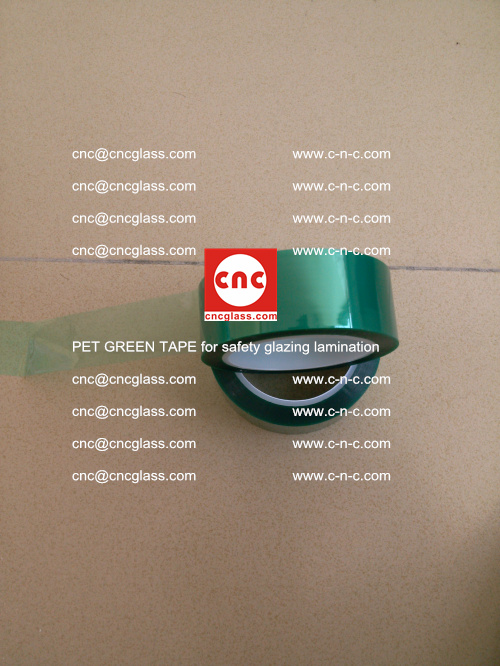 PET GREEN TAPE for safety glazing lamination (16)