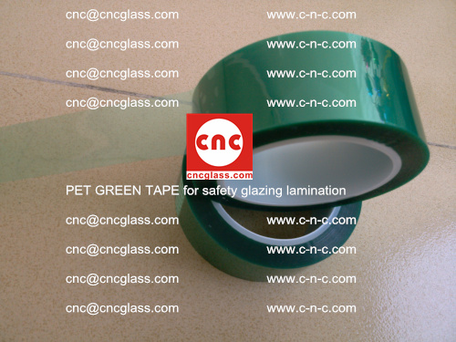 PET GREEN TAPE for safety glazing lamination (17)