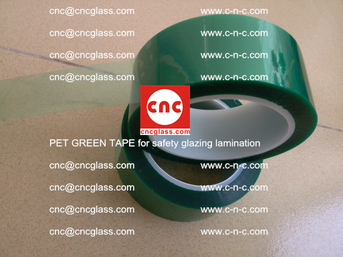 PET GREEN TAPE for safety glazing lamination (18)