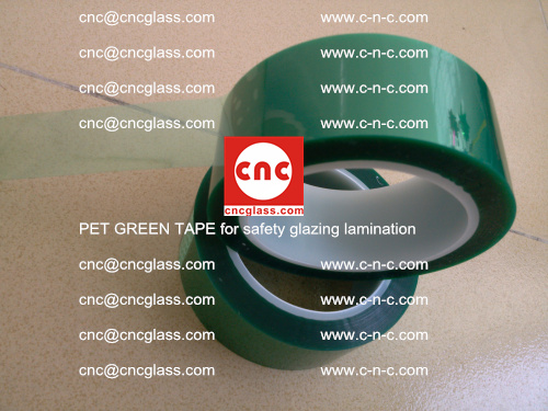 PET GREEN TAPE for safety glazing lamination (19)