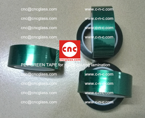 PET GREEN TAPE for safety glazing lamination (2)