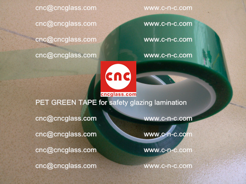 PET GREEN TAPE for safety glazing lamination (20)