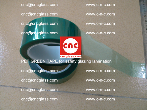 PET GREEN TAPE for safety glazing lamination (21)
