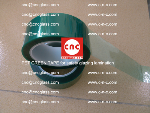 PET GREEN TAPE for safety glazing lamination (23)