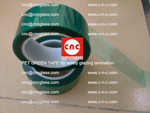 PET GREEN TAPE for safety glazing lamination (24)