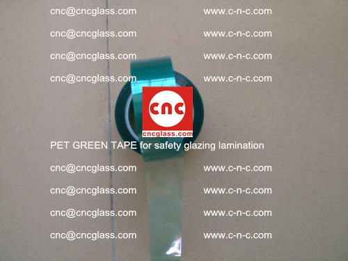 PET GREEN TAPE for safety glazing lamination (3)