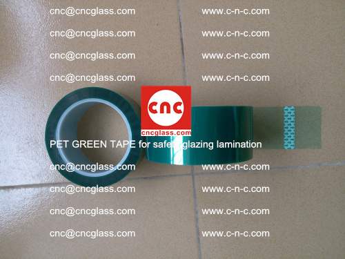PET GREEN TAPE for safety glazing lamination (32)