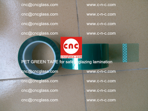 PET GREEN TAPE for safety glazing lamination (34)