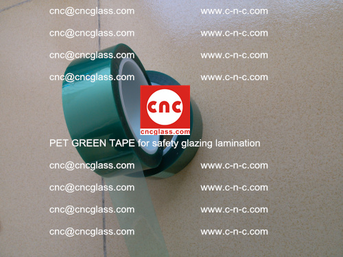 PET GREEN TAPE for safety glazing lamination (4)