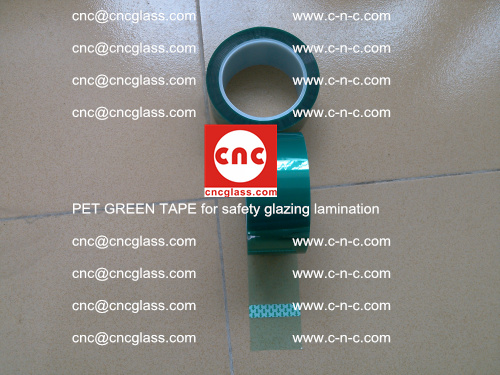 PET GREEN TAPE for safety glazing lamination (41)