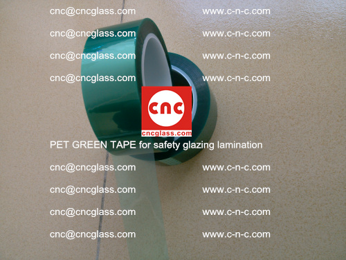 PET GREEN TAPE for safety glazing lamination (5)