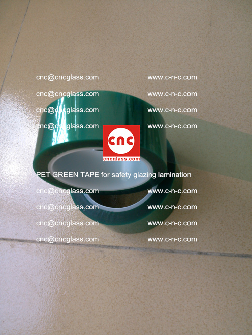 PET GREEN TAPE for safety glazing lamination (7)