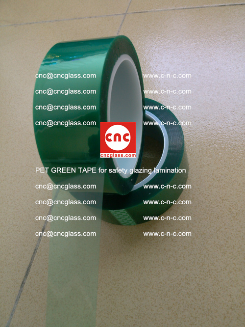 PET GREEN TAPE for safety glazing lamination (8)