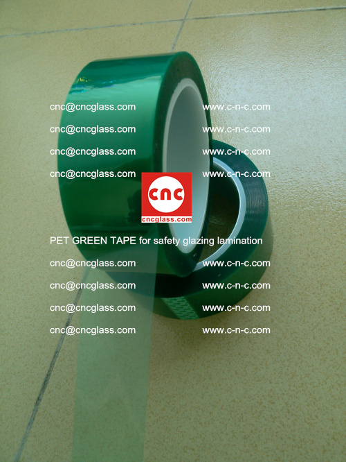 PET GREEN TAPE for safety glazing lamination (9)