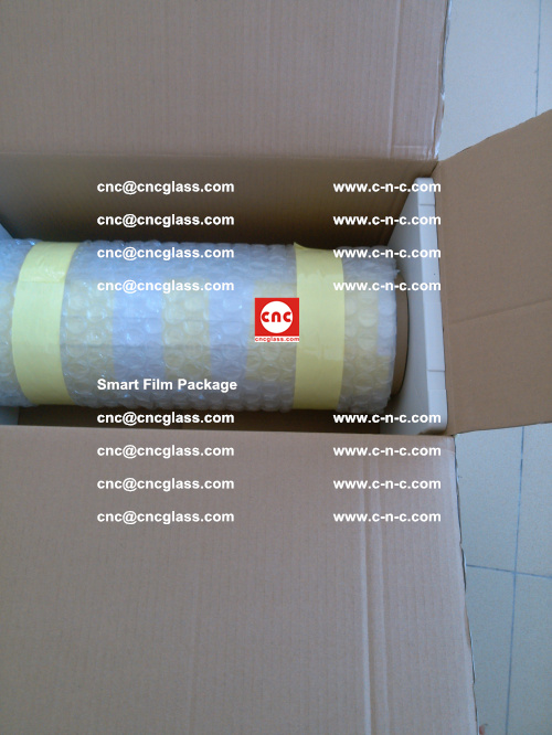 Package of Smart film, Smart glass film, Privacy glass film (4)