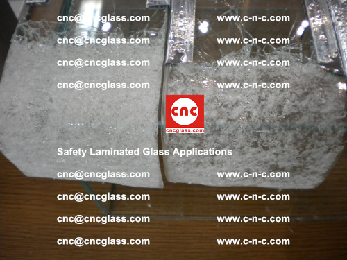 Safety laminated glass, Safety glazing, EVA Film, Glass interlayer (104)