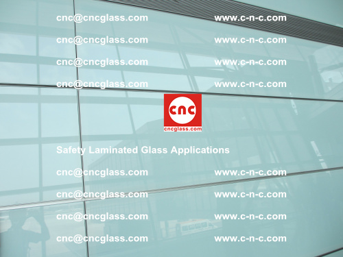 Safety laminated glass, Safety glazing, EVA Film, Glass interlayer (107)