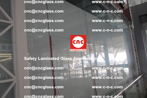 Safety laminated glass, Safety glazing, EVA Film, Glass interlayer (111)