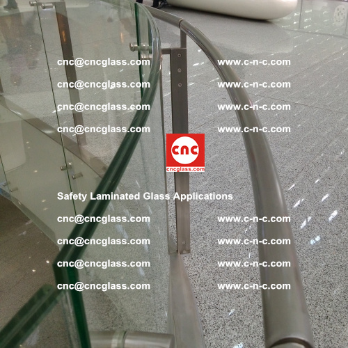 Safety laminated glass, Safety glazing, EVA Film, Glass interlayer (120)