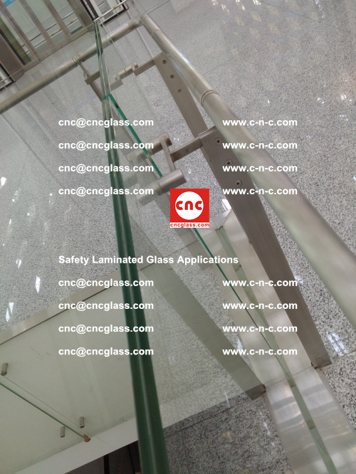 Safety laminated glass, Safety glazing, EVA Film, Glass interlayer (121)