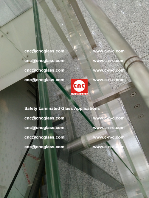 Safety laminated glass, Safety glazing, EVA Film, Glass interlayer (122)