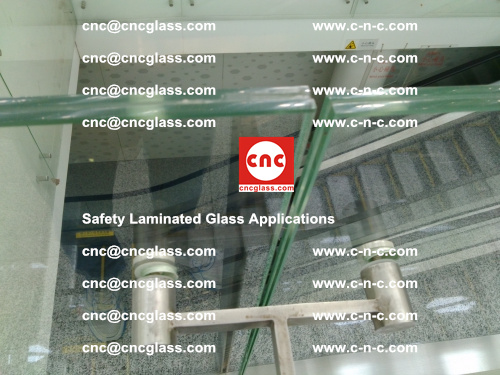 Safety laminated glass, Safety glazing, EVA Film, Glass interlayer (129)