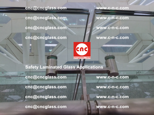 Safety laminated glass, Safety glazing, EVA Film, Glass interlayer (138)