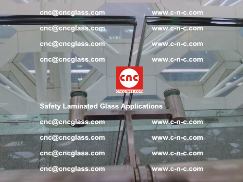 Safety laminated glass, Safety glazing, EVA Film, Glass interlayer (140)