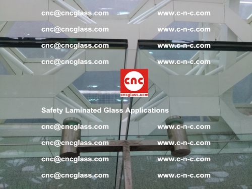 Safety laminated glass, Safety glazing, EVA Film, Glass interlayer (141)