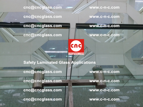 Safety laminated glass, Safety glazing, EVA Film, Glass interlayer (142)