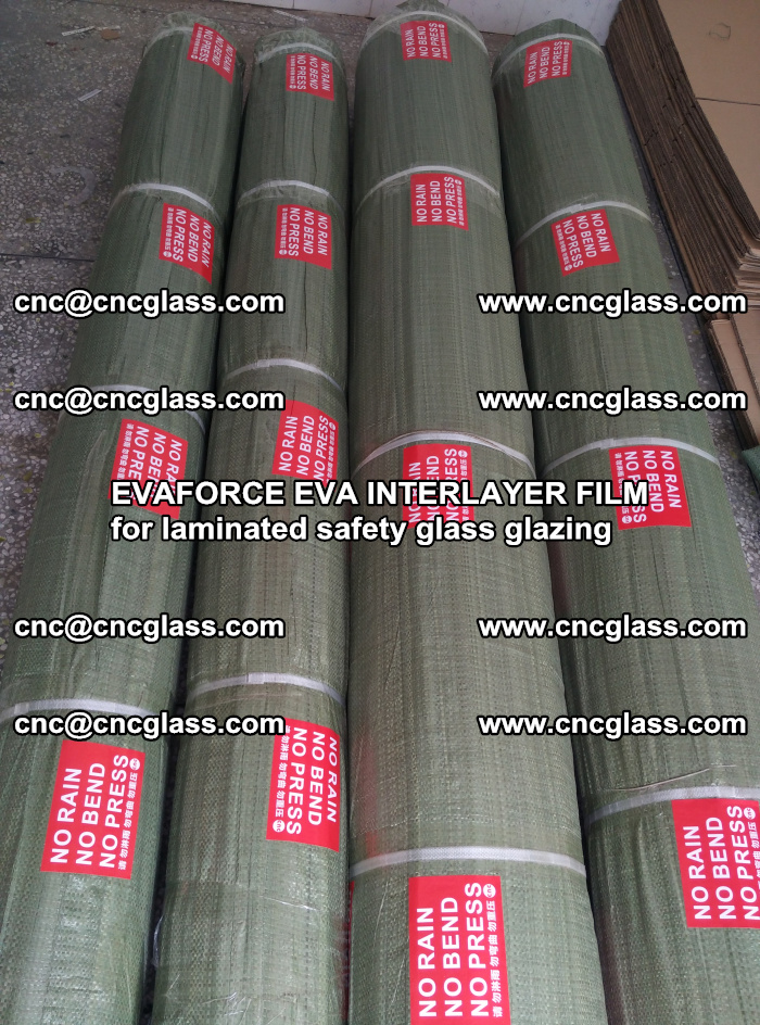 EVAFORCE EVA INTERLAYER FILM for laminated safety glass glazing (30)