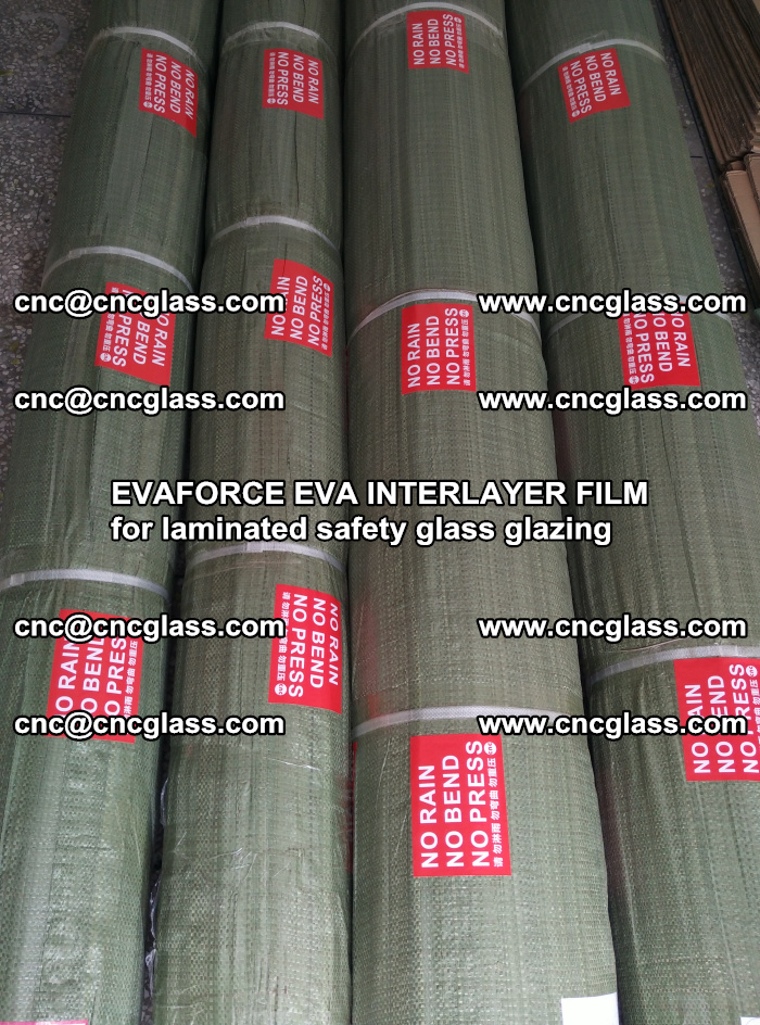 EVAFORCE EVA INTERLAYER FILM for laminated safety glass glazing (42)