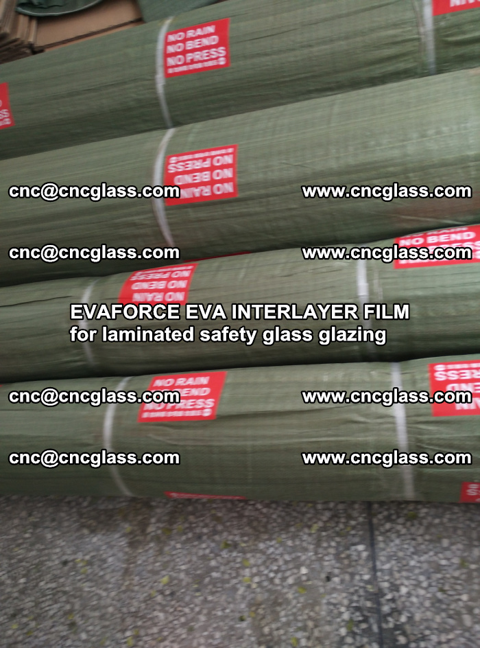 EVAFORCE EVA INTERLAYER FILM for laminated safety glass glazing (43)