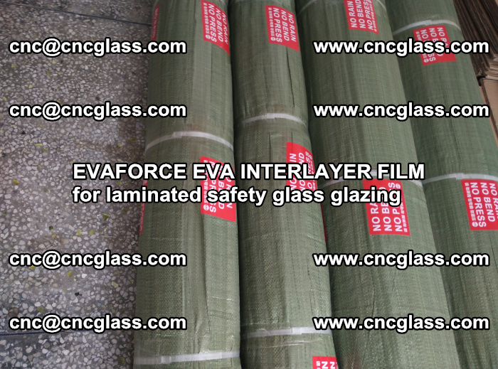 EVAFORCE EVA INTERLAYER FILM for laminated safety glass glazing (44)