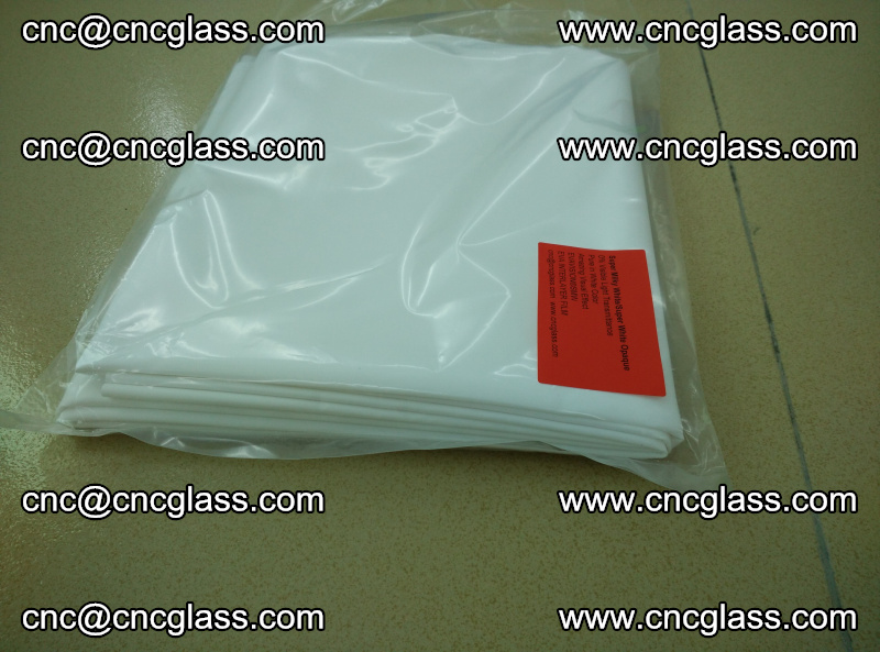 EVA visual glass interlayer film Super milky white (17)