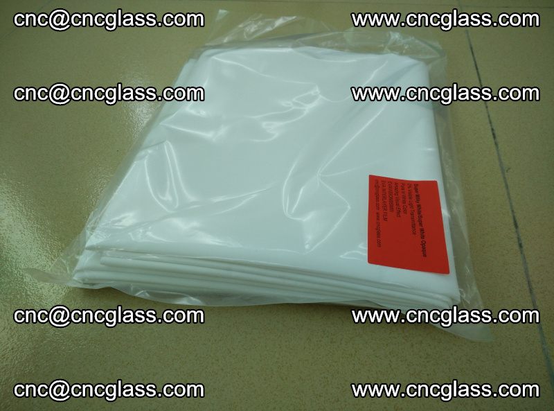 EVA visual glass interlayer film Super milky white (21)