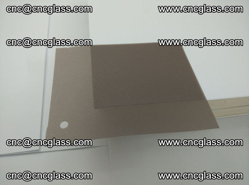 Red Tea Clear EVA glass interlayer film for safety glazing (triplex glass) (1)