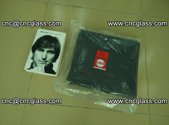 Transparent color grey eva glass interlayer film samples (14)